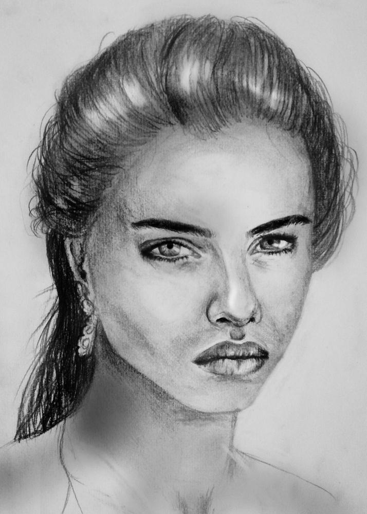 Adriana Lima by Tamzine